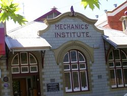 Mechanics Institute : 30-October-2014