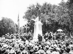 21-December-1916 : Unveiling : State Library of South Australia -  B-39842
