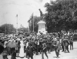 21-December-1916 : Unveiling : State Library of South Australia - PRG-280-1-9-74