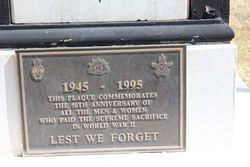 WW2 Plaque:24-February-2016