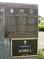 Korean War Plaques : 03-June-2015