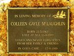 Colleen McLaughlin Inscription