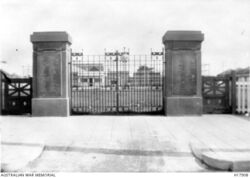 Former location at Grahame Park (Australian War Memorial : H17908)