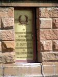 Coonabarabran War Memorial Inscription