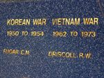 Korean/ Vietnam War Fallen : 01-August-2014