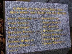 WW2 Inscription : 28-October-2014