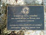 QLD Ambulance Cardwell & Tully Plaque