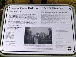 Peace Pathway Plaque : 18-March-2016