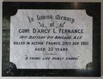D`Arcy Fernance