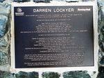 Darren Lockyer Inscription