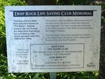 Deep Rock Life Saving Club Memorial : 28-September-2012