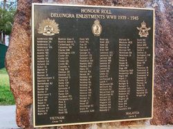 WW2 Honour Roll: 11-July-2016