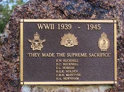 Supreme Sacrifice Plaque:11-July-2016