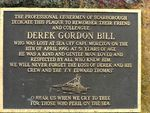 Derek Bill Inscription