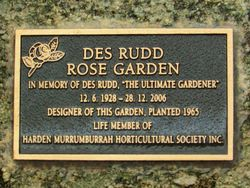 Rudd Plaque : 30-June-2015