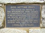 Dog Netting Fence Plaque : 11-09-2013