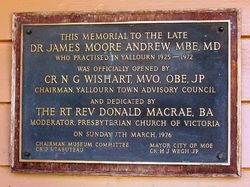 Plaque Inscription: 04-April-2016