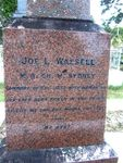 Dr Joseph Wassell Left Inscription : 22--07-2013