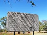 Drovers Memorial Park Information Board