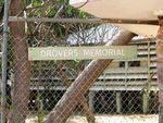 Drovers Memorial Sign