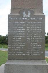 War Memorial : 08-April-2015