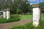 Bain Memorial gates : June 2014
