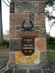 Dutton Park War Memorial Closeup