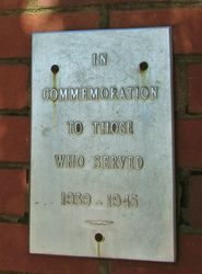 WW2 Inscription : 26-March-2015