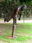 Eddie Gilbert Statue