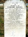 Edmund Parry Tombstone