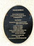 H.M.A.S Sheean Plaque : 2007