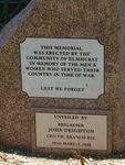 Elmhurst War Memorial : 30-December-2012