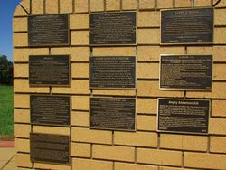Wall of Fame Plaques: 10-January-2016