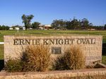 Ernie Knight Oval & Wall : 29-July-2014