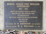 Euroa Urban Fire Brigade Centenary : 12-May-2013