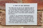 Commemorative Plaque : 19-02-2014