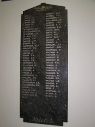Honour Roll 2 : 30-October-2014