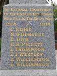 Ferntree Gully Primary School War Memorial : 15-March-2012