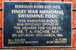 Amenities Plaque: 26-March-2016