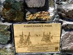 Fishermans Park Plaque