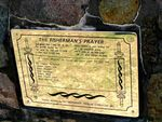 Fishermans Prayer Plaque