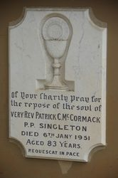 Mc Cormack Plaque : 11-November-2014