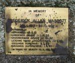 Frederick Allan Mabbott : 25-January-2011