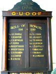 GUOOF Honour Roll Nov 2009