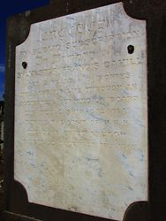 Cahill Inscription : 29-November-2014