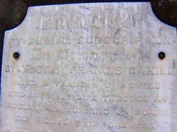Cahill Inscription 2 : 29-November-2014