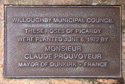 Roses of Picardy Plaque : 24-January-2016