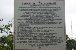 Garden of Remembrance Plaque: 24-january-2016
