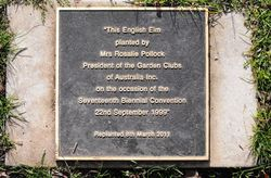 Plaque: 13-July-2016