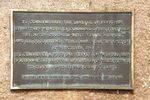 Bass & Flinders Plaque Inscription : November 2013